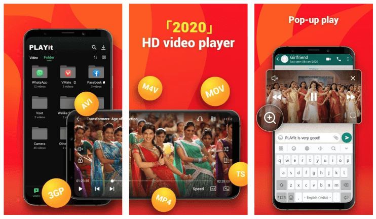 Playit App Download – All In One Video Player For Android