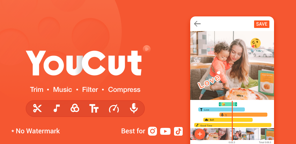 YouCut App Video Editor For Android Free Download